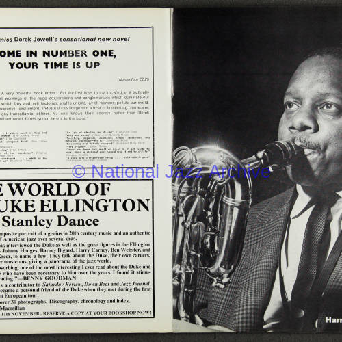 Duke Ellington Orchestra British Tour - October 1971 005