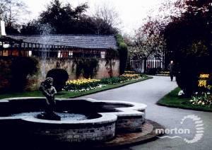 Cannizaro Park, Wimbledon: Sunken garden