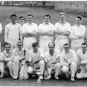 Barnes Green Cricket Club Team 1963