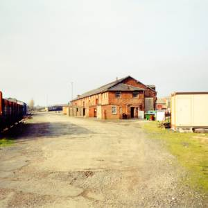 Hereford goods yard, c.1990