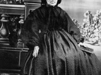 Mrs Everett, church pew opener
