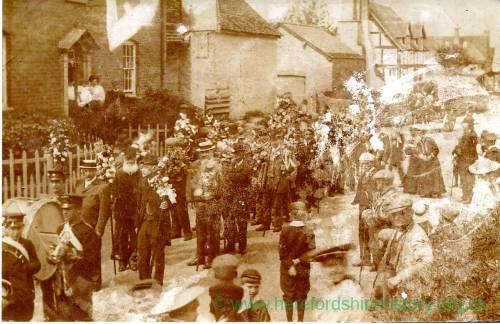 Heart of Oak Society club walk, Fownhope