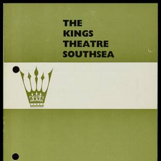 King's Theatre, Southsea, May 1966