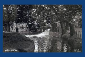 The Waterfall, Wandle Park , Colliers Wood