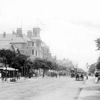 Lord Street and horse drawn Trams
