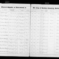 Burial Register 59 - October 1904 to February 1906