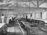 Morris & Co. Merton Abbey: Printing Morris chintzes