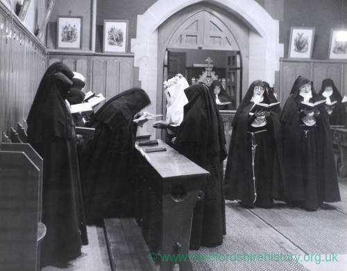Sister Antonia Andrade enters the Order of the Poor Clares, 1958