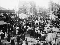 Mitcham Fair, Tramline in place