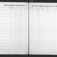 Burial Register 6 - January 1862 to August 1862