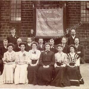 Potter Hill Methodist Chapel Members early 20th century.
