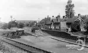 Tooting Junction Station, looking towards Haydons Road