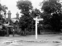 Entrance to South Lodge Golf Club, Mitcham