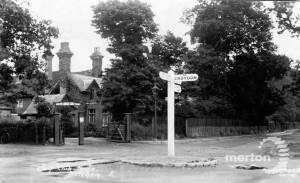 Entrance to South Lodge Golf Club, Mitcham