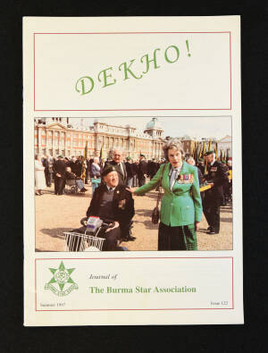 DEKHO! The Journal of The Burma Star Association - Issue No. 122, Year 1997