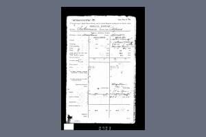 Service Record - Alfred Jakeman