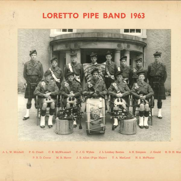 Pipe Band 1963