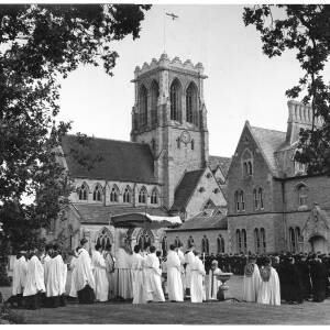 340 - Ceremony at Belmont Abbey