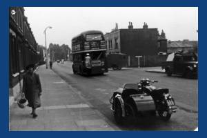 Haydons Road, Wimbledon: Junction with Gilbert Road