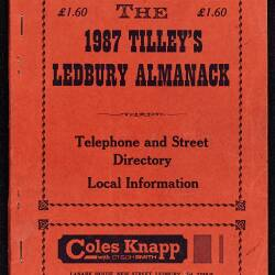 Tilley's Ledbury Almanack 1987