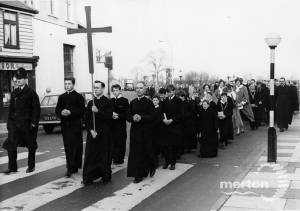 Easter Witness procession, Mitcham