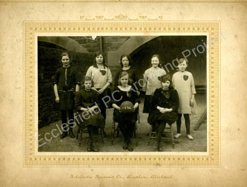 Grenoside Junior School  Netball Team 1924