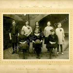 Grenoside Junior School  Netball Team 1924