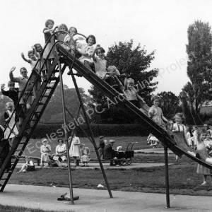 Ecclesfield Park & playground 1954