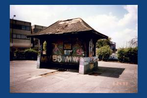 Drewett Memorial Shelter, Fair Green, Mitcham