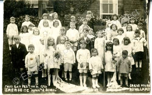 Grenoside Infant School Mayday Festival 1924