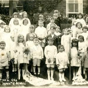 Grenoside Infant School Mayday Festival 1924
