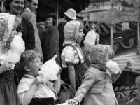 Mitcham Fair children with candy floss