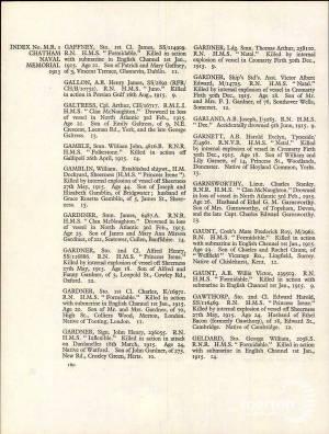 CWGC Register