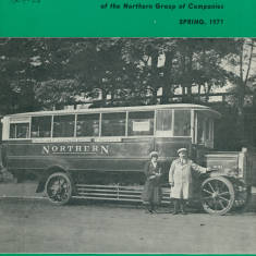 Northern Bus Company Charabanc for Chester Le Street via Sunderland and Cleadon Village.