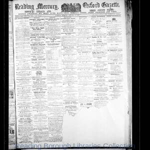 Reading Mercury Oxford Gazette 1917