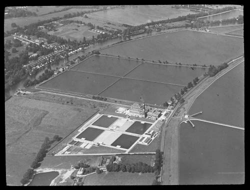 Aerial view of Walton Works