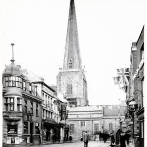 Broad Street, Hereford,north end, c1915