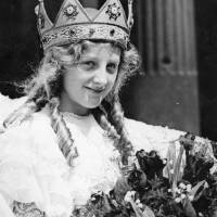 Bootle May Queen Miss Florence Margaret Potter, 1932