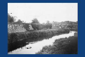 River Wandle, Brook Path and Old Priory Walls