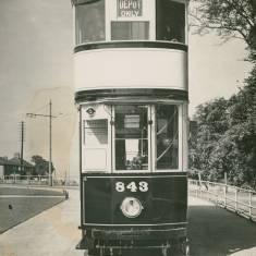 Last Tram Built in Birmingham