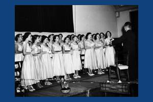St. Helier Girls' Choir at the Central Hall, Morden