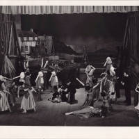 Photograph - 1951 Gaiety Whirl - performance on stage