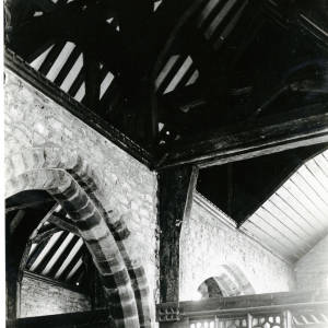 Stretford Church, Herefordshire, interior