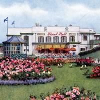 Floral hall (postcard)