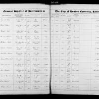 Burial Register 11 - October 1865 to July 1866