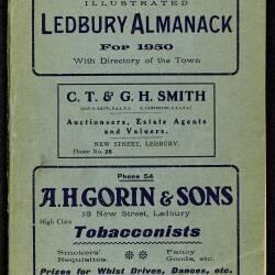 Tilley's Ledbury Almanack 1950
