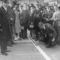 Bootle, The mile of pennies, 1929