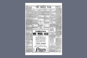13 JANUARY 1917