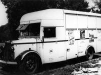Merton & Morden Borough Surveyor's van.