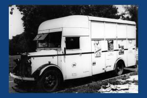 Merton & Morden Borough Surveyor's van.